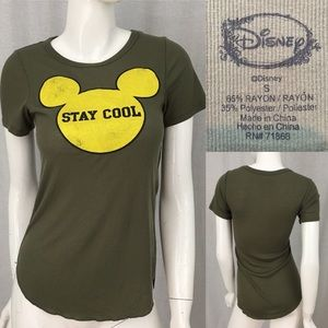 Size Small Disney Mickey Mouse Short Sleeve Top